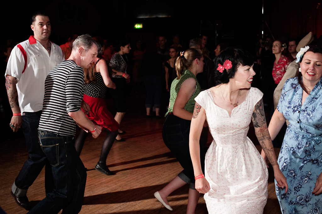 Dancefloor at Rockabilly Rave, Camber Sands #2